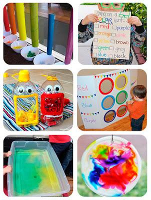 6 Juegos de aprendizaje para aprender los colores