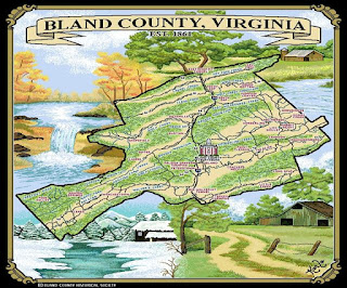 Bland County, Virginia, est. 1861