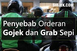 Penyebab Utama Orderan Gojek dan Grab Sepi