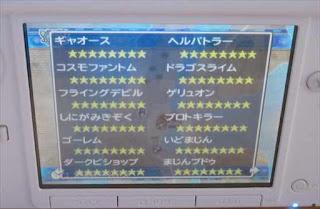 3DS版ドラゴンクエスト7のモンスター職一覧