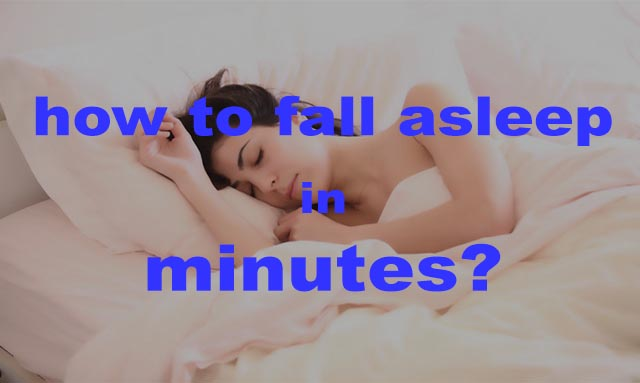 How to fall asleep in minutes with these simple methods