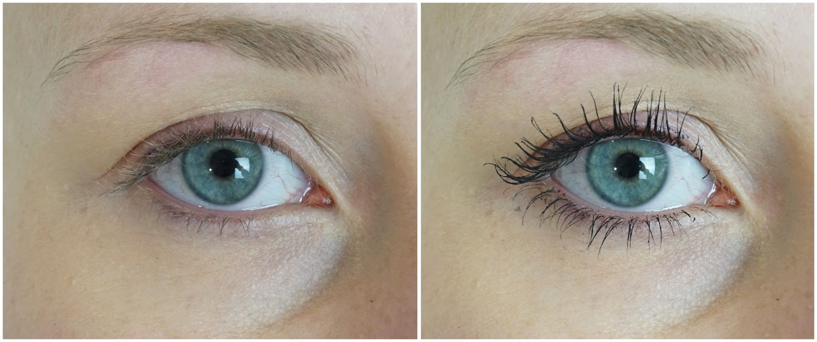 Alverde - Mascara False Lashes Auge Eyes Vorher nachher