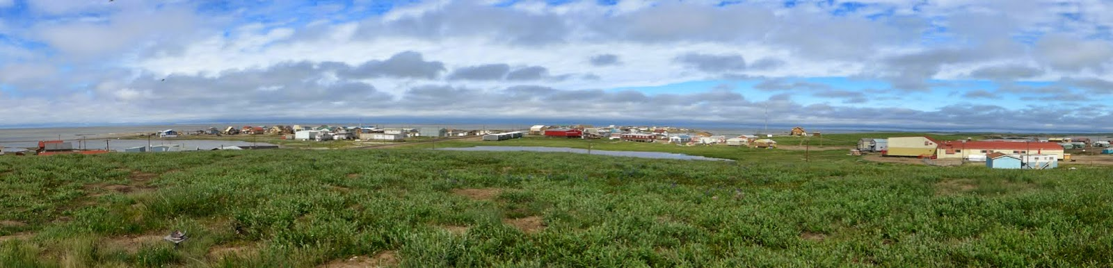 Panorama of Tuktoyaktuk