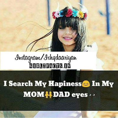 I search My Happiness in My Mom Dad Eyes