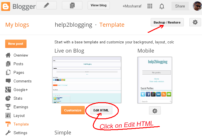 Add Search Bar With Clean Style for blogger