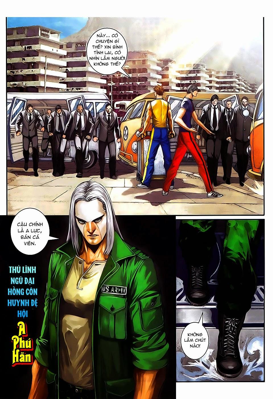 Quyền Đạo chapter 8 trang 10
