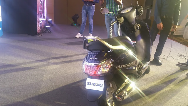 All New Access 125 In India