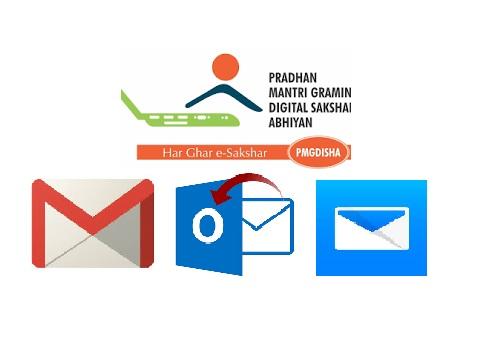 PMGDISHA में Students के लिए इस तरीके से Email Id बना सकते है
