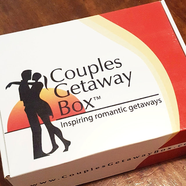 Couples Getaway Box is a the subscription box that inspires romantic getaways and date nights for married couples.