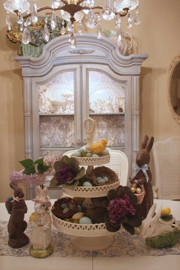 Romantic Homes Decorating: My Romantic Home: Easter Decor