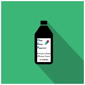Obat Batuk Peppermint (OBP) Sirup, Untuk Batuk Yang Disertai Dahak