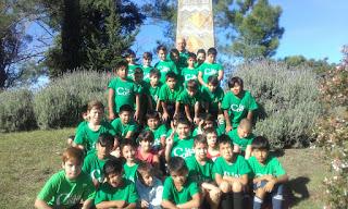La escuela municipal de f tbol particip de un encuentro for Temperatura actual en villa gesell