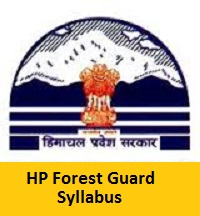 HP Forest Guard Syllabus 2017