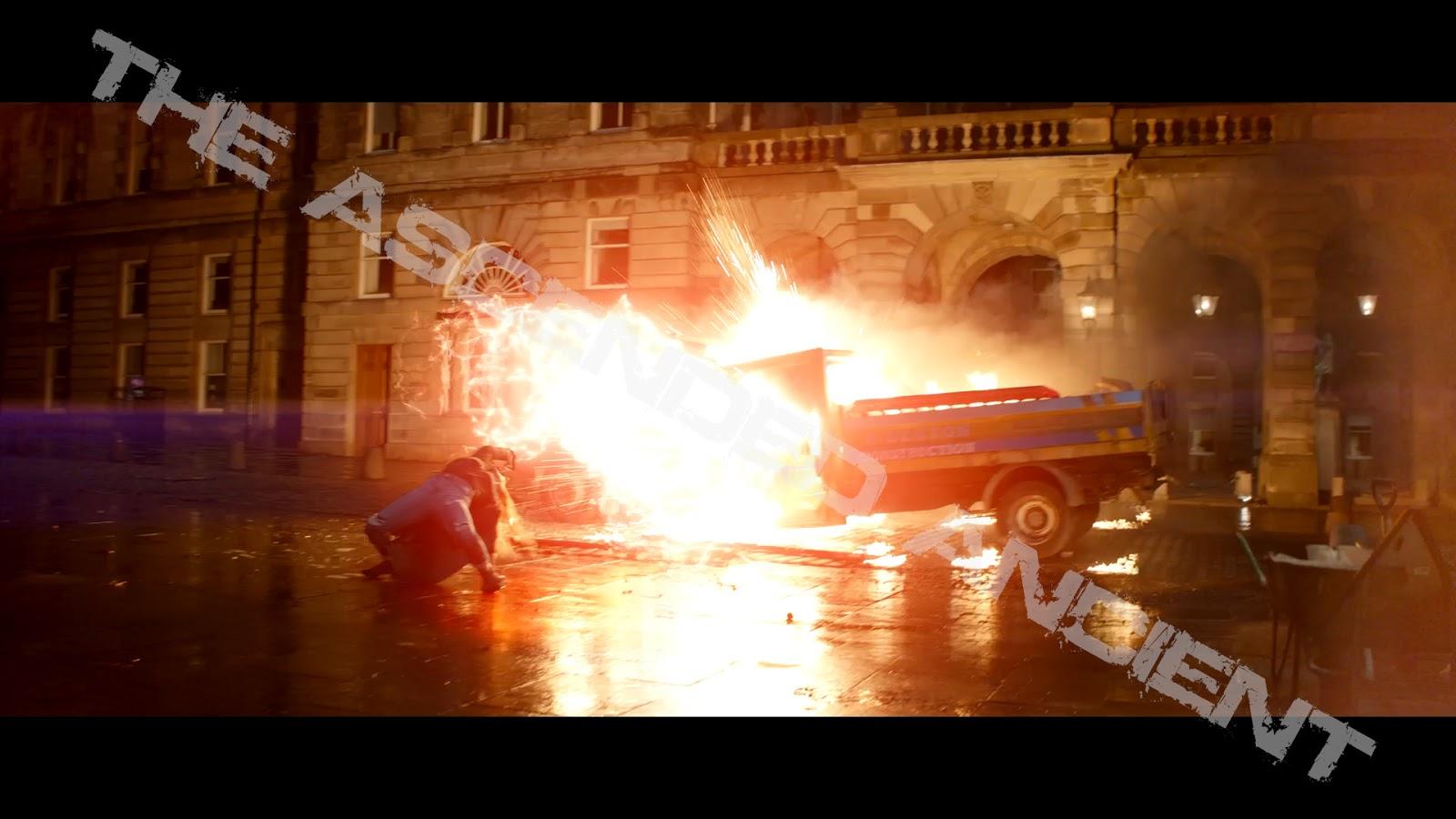 Ванда ведет бой со слугами Таноса: