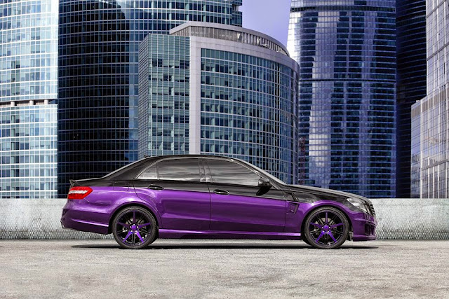 mercedes e 212 purple