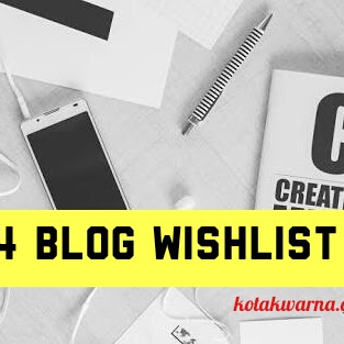 4 Blog Wishlist