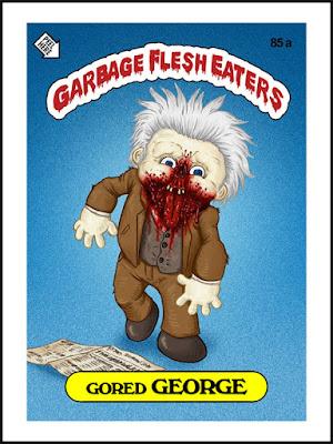 Zombies Meet Garbage Pail Kids (art by Omar Hauksson) - George