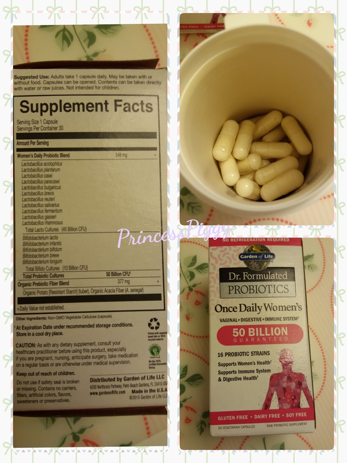 2 probiotics for Garden of life once daily women s probiotic