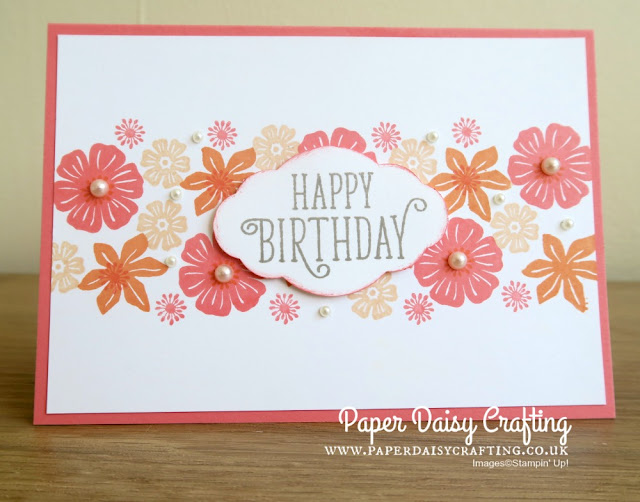 Beautiful Bouquet beginner card Stampin' Up!