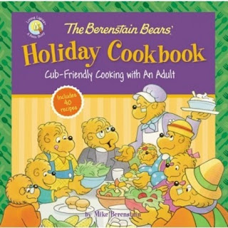 the berenstain bears holiday cookbook cover