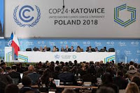 Participants take part in the plenary session during COP24 U.N. Climate Change Conference 2018 in Katowice, Poland December 4, 2018. (Credit: Reuters/Kacper Pempel) Click to Enlarge.