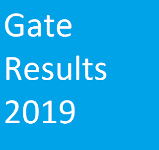 Gate Results 2019