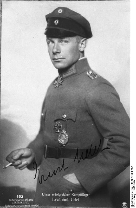 Ernst Udet WWI