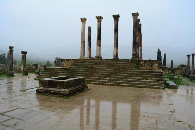 Temple du Capitole Volubilis