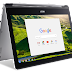 Acer Unveils Industry's First Convertible Chromebook with 13-inch Display