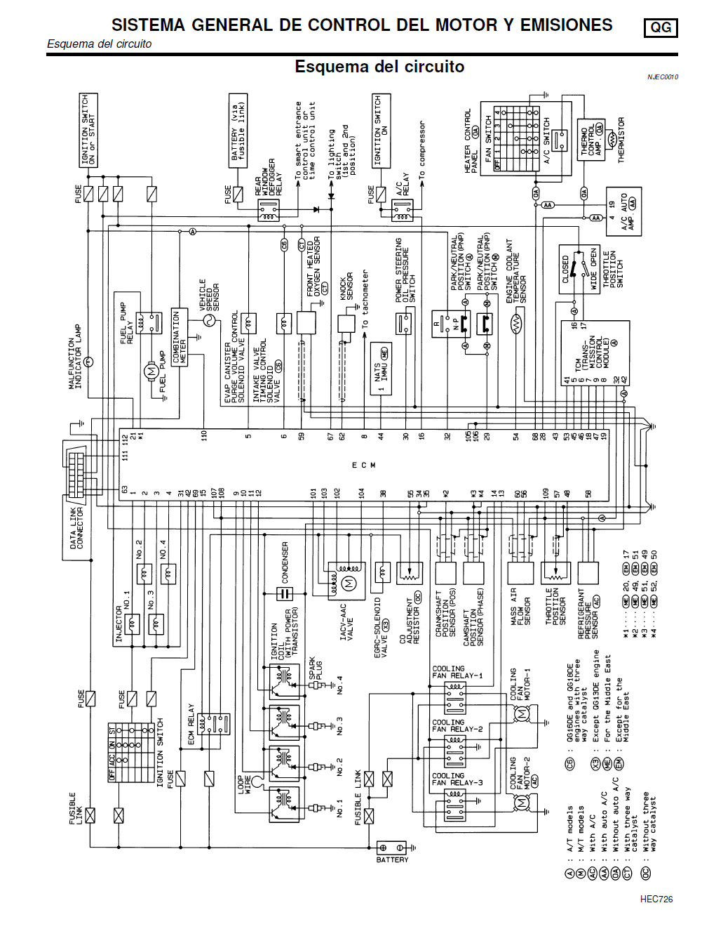 94 Sentra Fuse Diagram Great Design Of Wiring 2000 Nissan Box 2013
