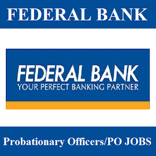 Federal Bank Limited, Bank, PO, Probationary Officer, Graduation, freejobalert, Sarkari Naukri, Latest Jobs, federal bank logo