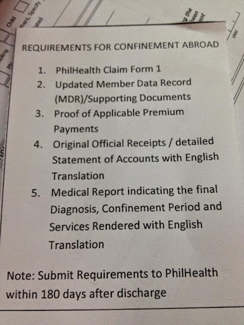 SSS Requirements For Confinement Abroad
