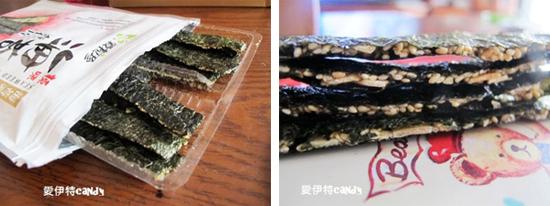海苔,台式海苔,夾心海苔,海苔脆片