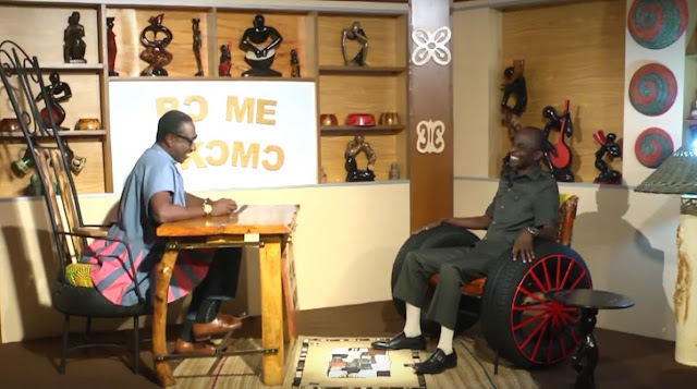 "KSM and Johnson Kwadwo Asiedu Nketia on the ""Bɔ Me Nkomɔ"" Show"