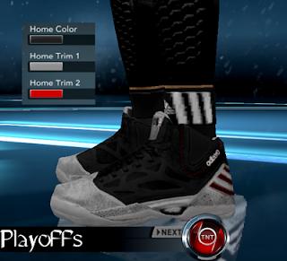 hot sale online 0a207 4534c NBA 2K12 Adidas AdiZero Rose 2.5 Shoes Patch