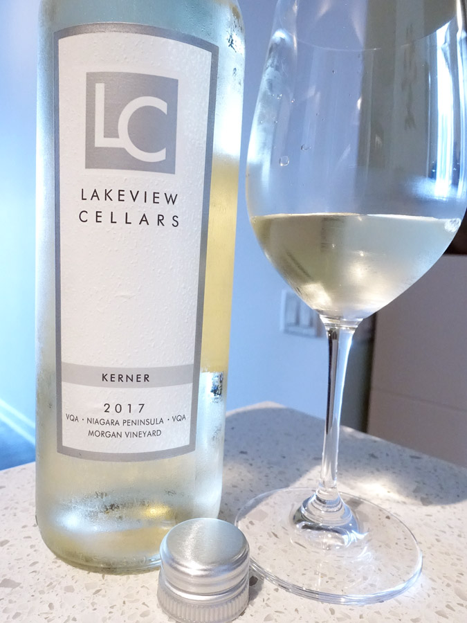 Lakeview Cellars Morgan Vineyard Kerner 2017 (87 pts)