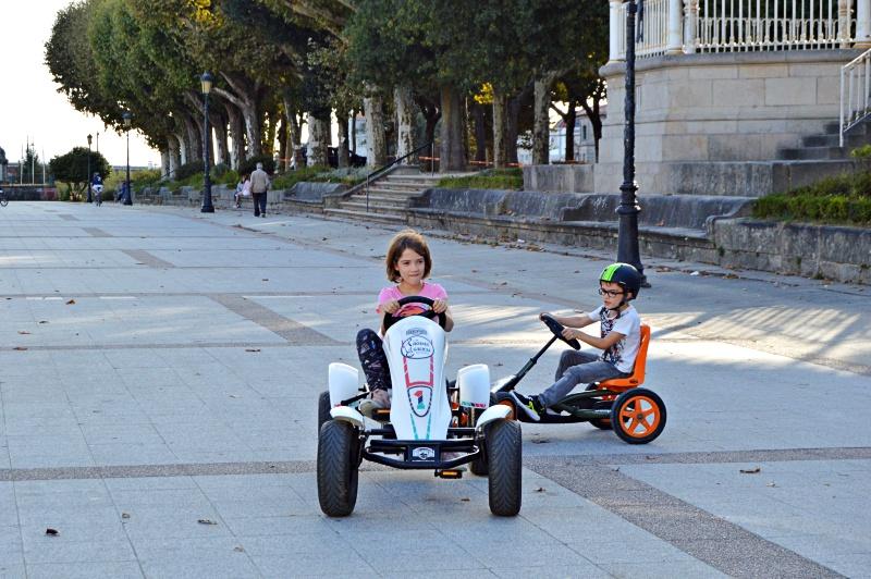 coches a pedales alameda pontevedra