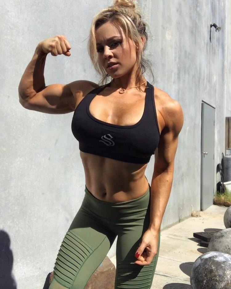 Stephanie Sanzo Australian a strong physique