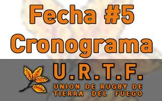 [URTF] Horarios: Primera División y Juveniles - 18/03