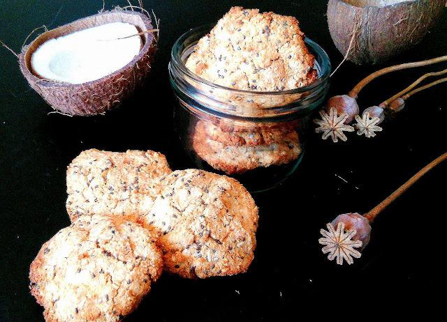 Ciasteczka kokosowe z chia