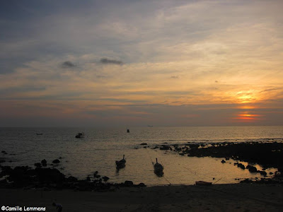 Sunset near Klong Nin on Koh Lanta
