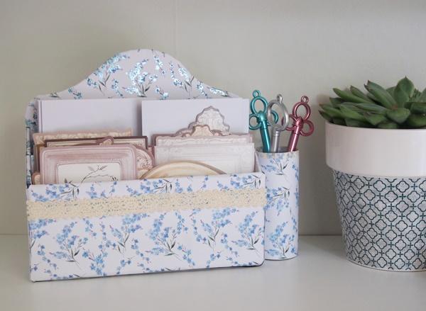 diy range courrier en carton caro dels blog diy et loisirs cr atifs. Black Bedroom Furniture Sets. Home Design Ideas
