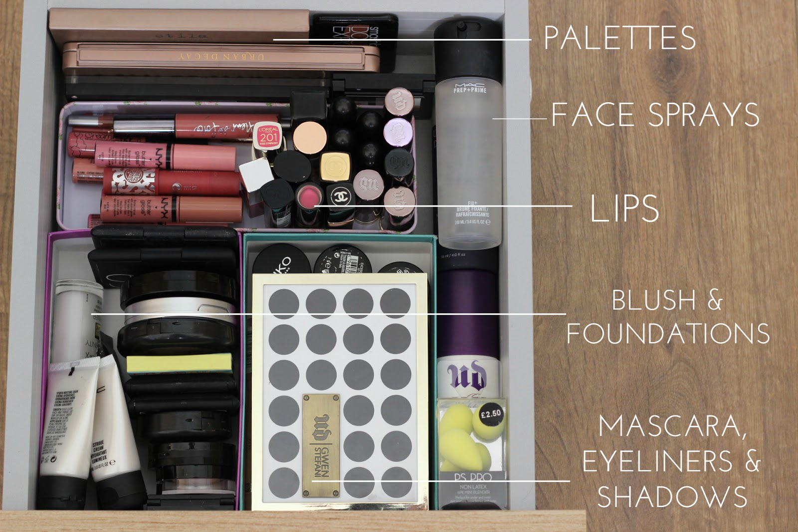 Massive Makeup Declutter & Tips