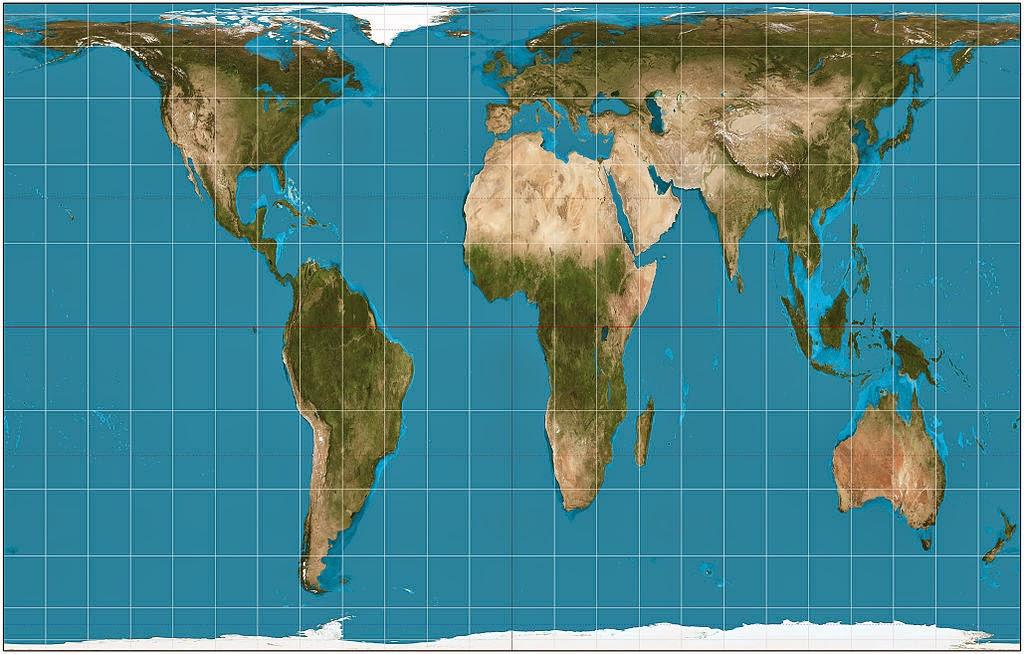 peters kart Globalhistorie: Arno Peters og det