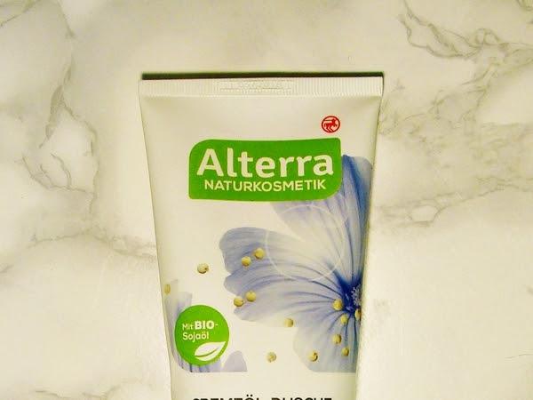 Alterra, Kremowy olejek pod prysznic Malwa Bio & Szarłat Bio