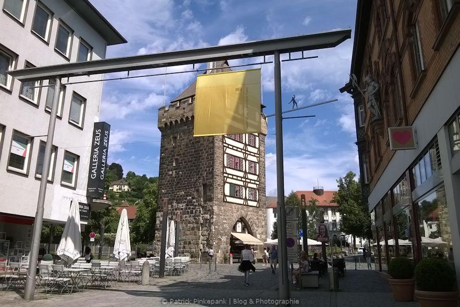 Am Schelztorturm in Esslingen