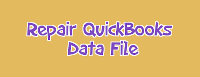 Fix QuickBooks Problem In Data File
