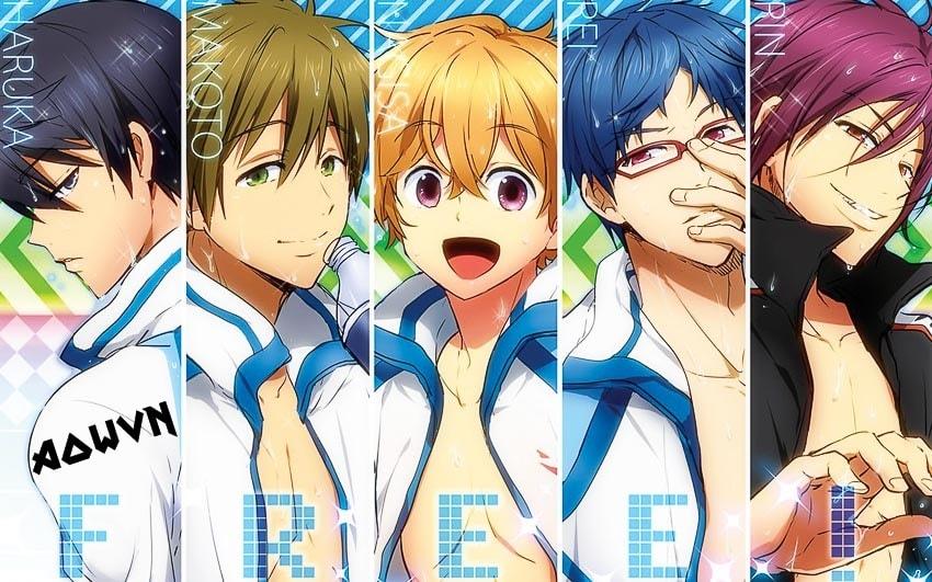 Free%2521%2B %2BPhatpro%2B%25282%2529 min - [ Anime 3gp Mp4 ] Free! SS1 + SS2 + SP | Vietsub - Giải Nhiệt Cùng Bơi Lội - Cực Đã