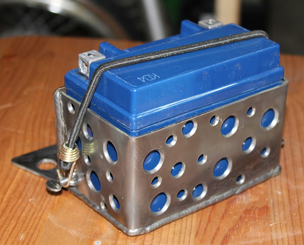 Xs650 Custom Battery Box - Year of Clean Water on
