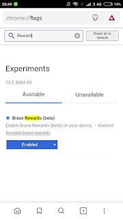 Install brave browser dapat airdrop token BAT gratis
